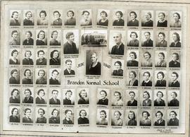 Brandon Normal School June 1940