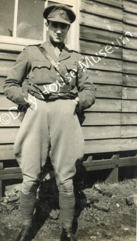 Lewis Kreiger Davidson in Military Uniform