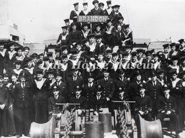 Sailors on the H.M.C.S Brandon