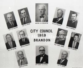 Brandon City Council - 1959