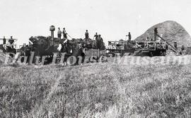 Threshing on John T. Clarke Farm