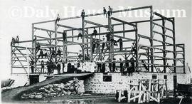 Barn Raising, Thornhill Manitoba June 1906