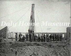 Construction of Hanbury Lumber Company
