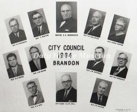Brandon City Council - 1964