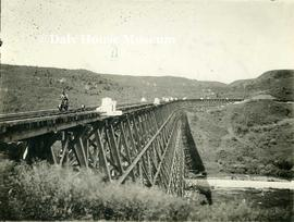 Railway Bridge at Bredenbury, Saskatchewan