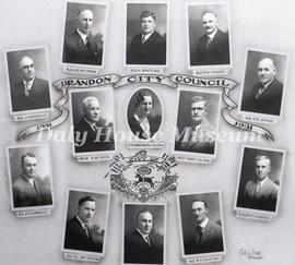 Brandon City Council,1931