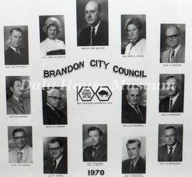 Brandon City Council - 1970