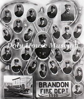 Brandon Fire Department, 1910