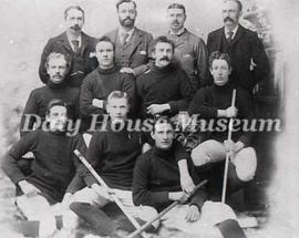 Brandon Hockey Team, c. 1895