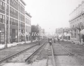 10th Street Track Laying