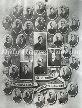 Manitoba College of Pharmacy - Graduating Class 1908