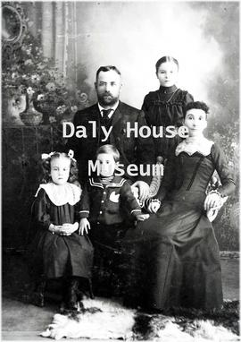 William A. Fleming Family – ca. 1898