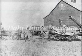 Chalmers Brothers Threshing, 1907