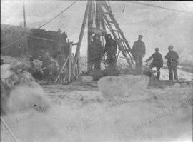 Assiniboine River Ice Harvesting