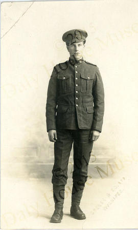 Al Miller in World War I uniform
