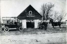 Blacksmith Shop, Douglas, Manitoba – ca. 1910