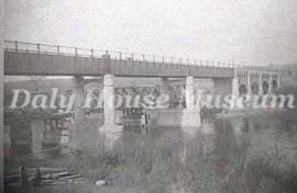 Construction of the Second First Street Bridge