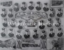 Brandon Fire Department 1933