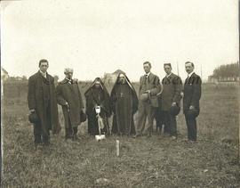 Ground Breaking Ceremony, St. Joseph's Convent, Brandon, Manitoba – ca. 1883
