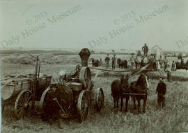 Threshing Picture