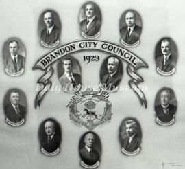 Brandon City Council - 1923