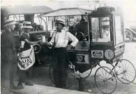 William Chrest's Hot Peanuts Cart