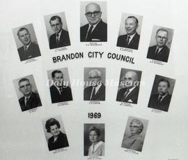 Brandon City Council - 1969