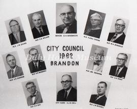 Brandon City Council - 1962