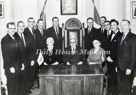 Inaugural Meeting of  the 1967 Brandon City Council