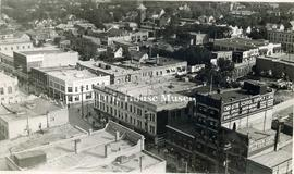 Aerial Photo of Brandon - 8th Street & Rosser Avenue