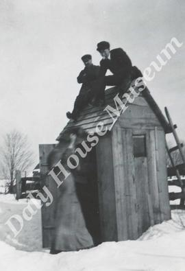 Outhouse Scene