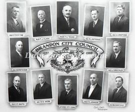Brandon City Council - 1938