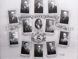 Brandon City Council, 1931