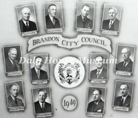 Brandon City Council - 1949