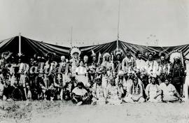 First Nations People at Provincial Exhibition c. 1920