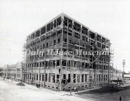 Construction of the CNR Prince Edward Hotel