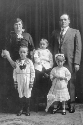 Mr. & Mrs. Victor Buchwold & family 1
