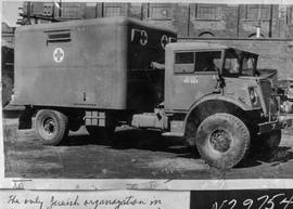 Ambulance purchased by Jewish Committee for War Relief 1