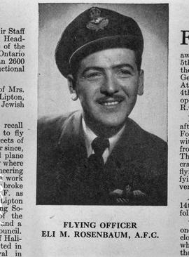 Flying Officer Allan Gonor DFC 1