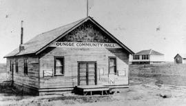 Onger Community Hall, Onger Saskatchewan 1