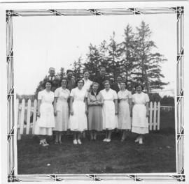 685:02 Nursing staff at Rosthern Nursing Home