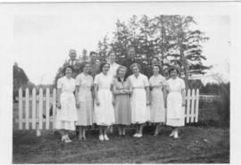 685:01 Nursing staff at Rosthern Invalid Home