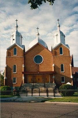 Front exterior of St. Andrew's Church