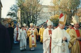 Procession during the Closing of the 400th anniversary of the Union of Brest