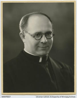 Portrait of Reverend Maxim Hermaniuk