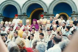Group photo with Ukrainian Catholic Hierarchs, II