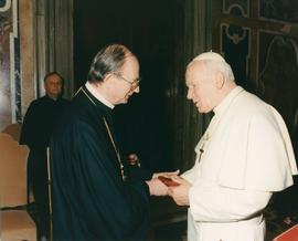 Pope and Metr. Michael Bzdel