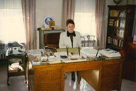 Irene Hermaniuk at the Metropolitan's Desk