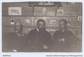 Metropolitan Andrij with Ukrainian Nationalist Colonels