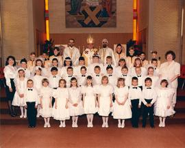 First Communion at St. Joseph Church, Winnipeg
